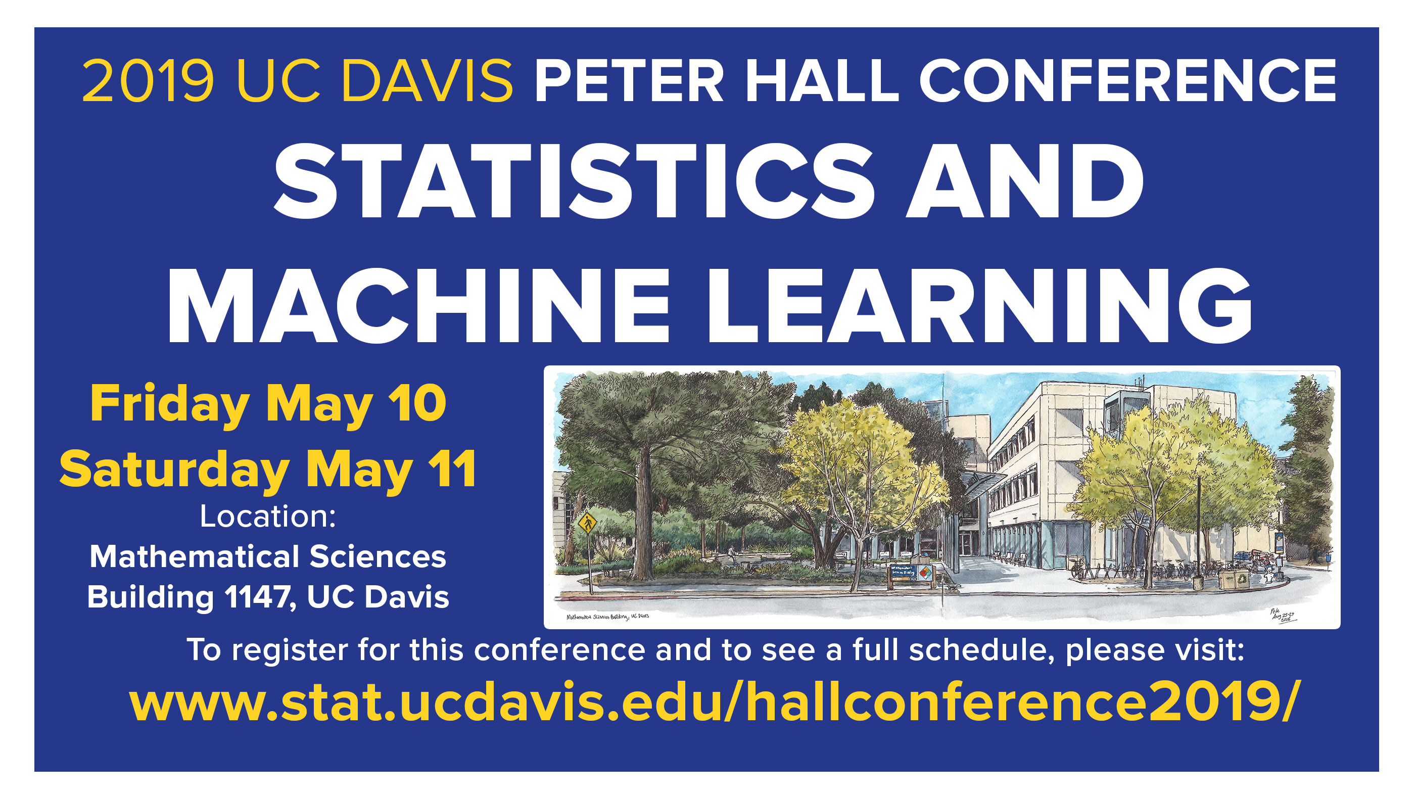Conferences & Symposia | UC Davis Department of Statistics