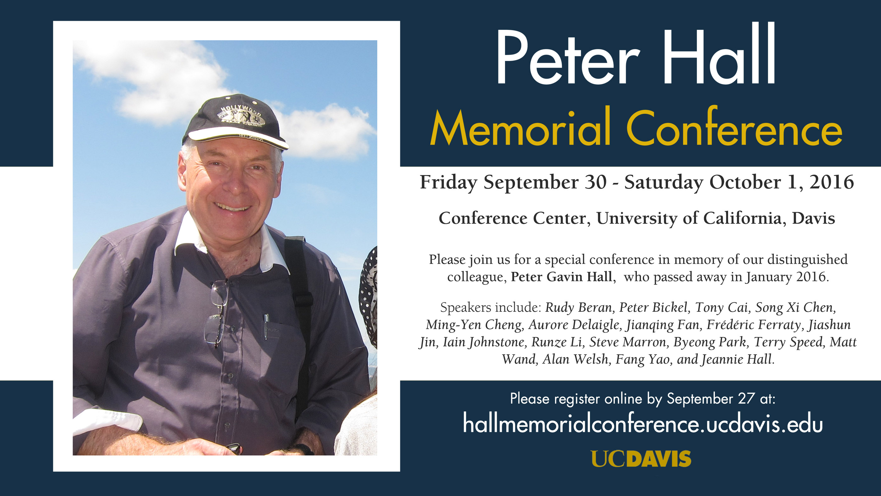 Peter Hall Memorial Conference