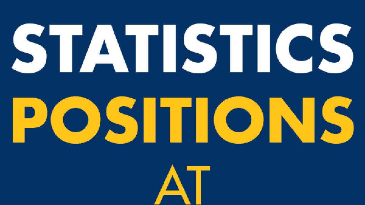 Stats Positions at UC Davis