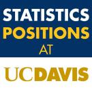 Statistics positions at UC Davis